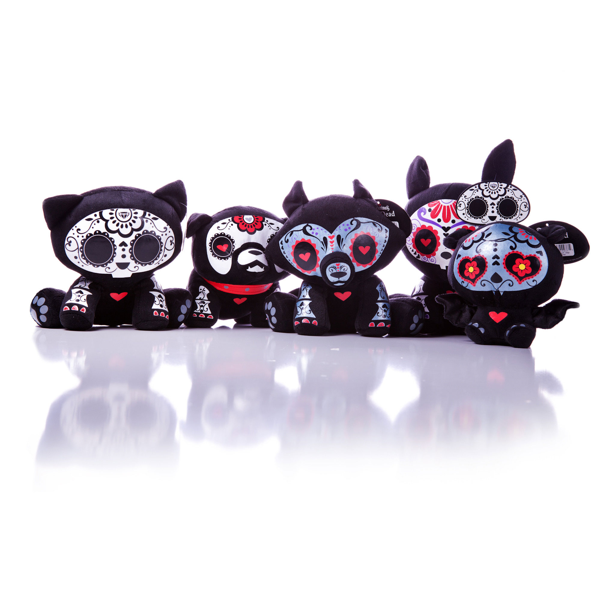 Skelanimals DOTD Plush Group Shot