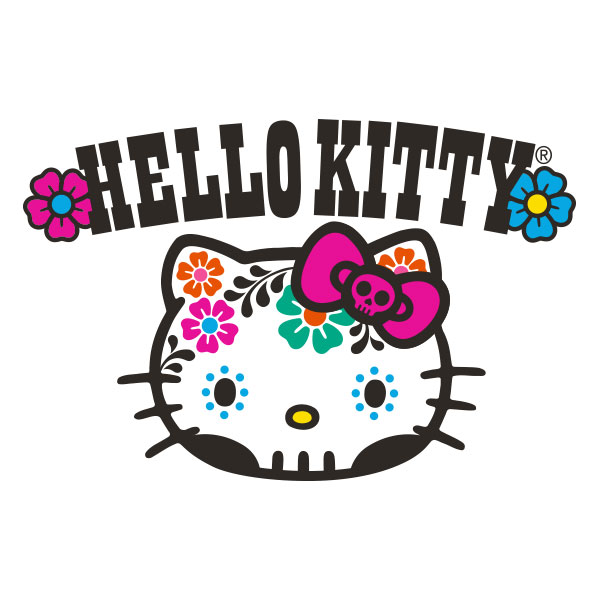 Hello Kitty Day of the Dead Logo