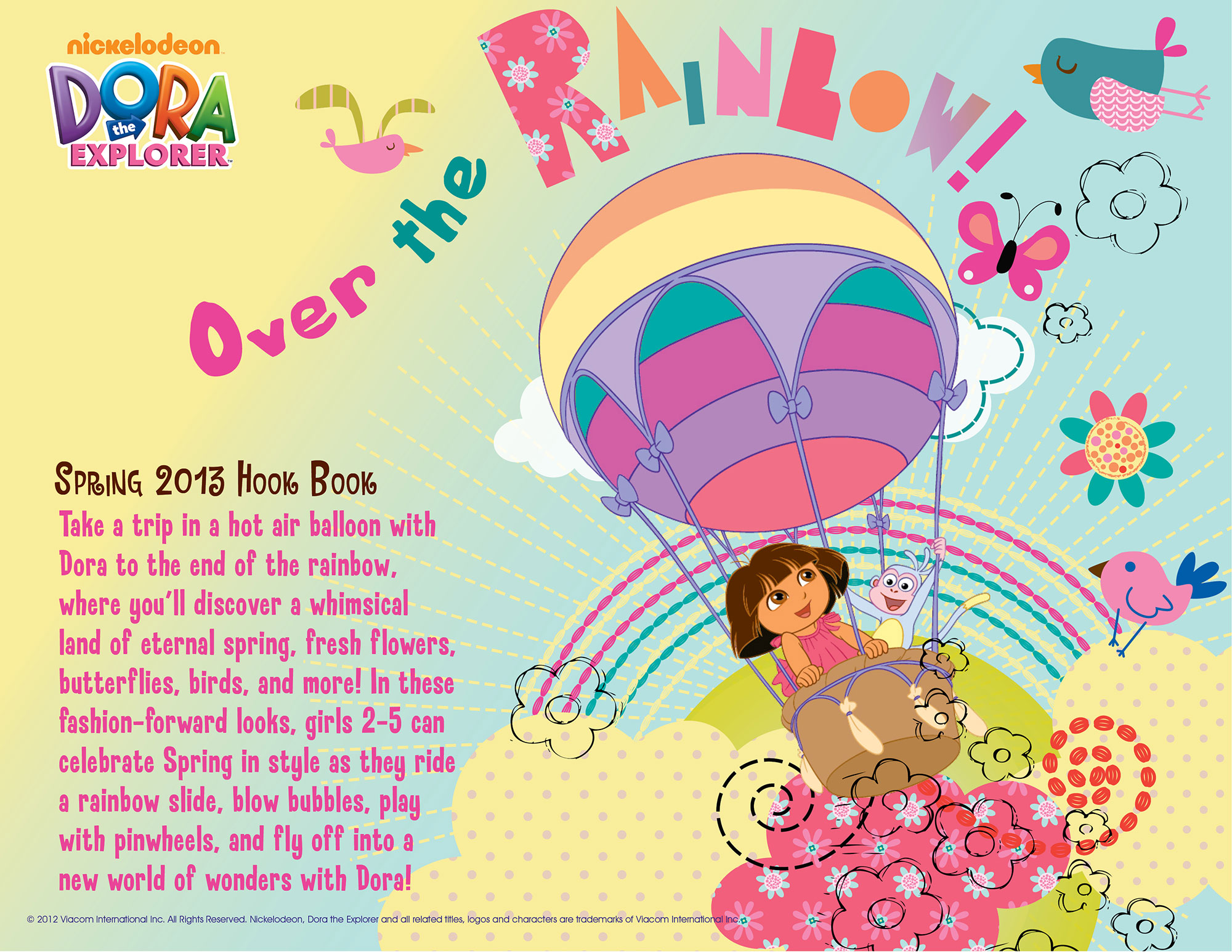 Over the Rainbow Hookbook Cover