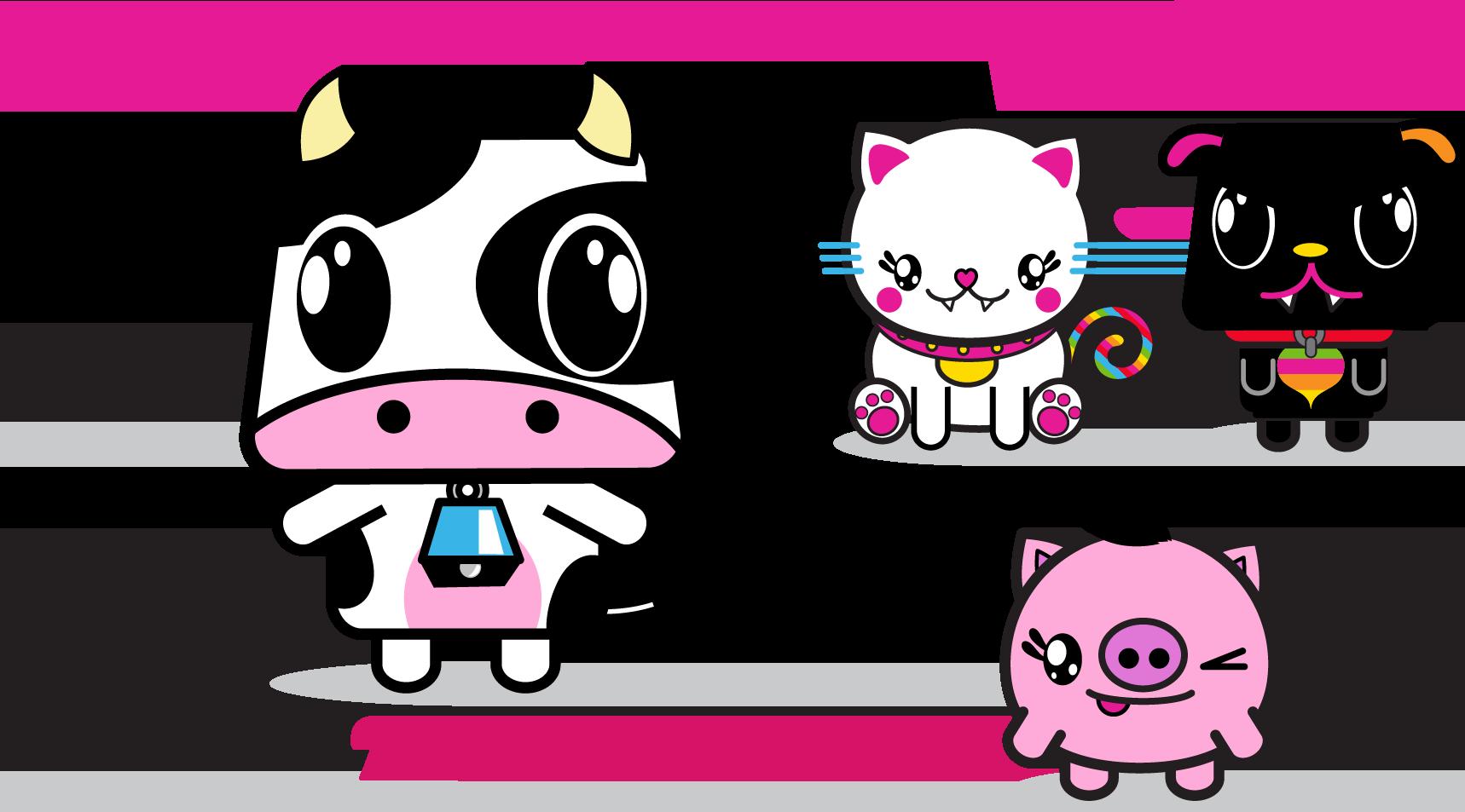 Peta2 Characters