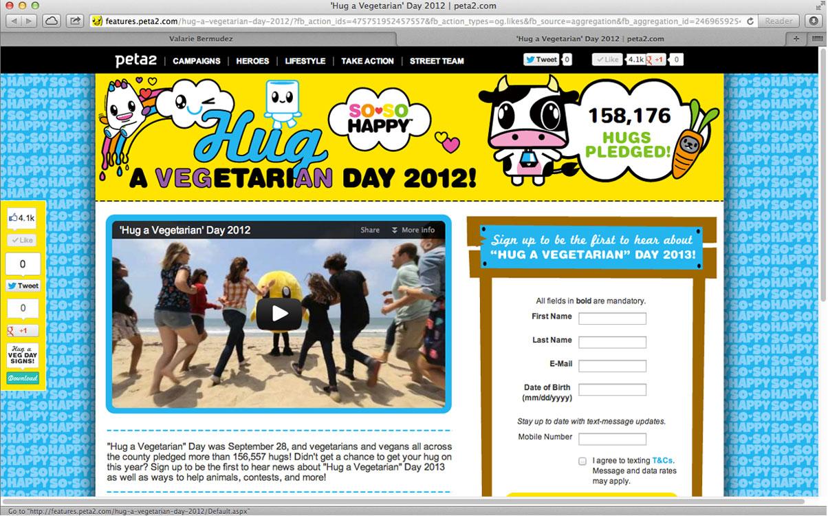 Peta2 Website