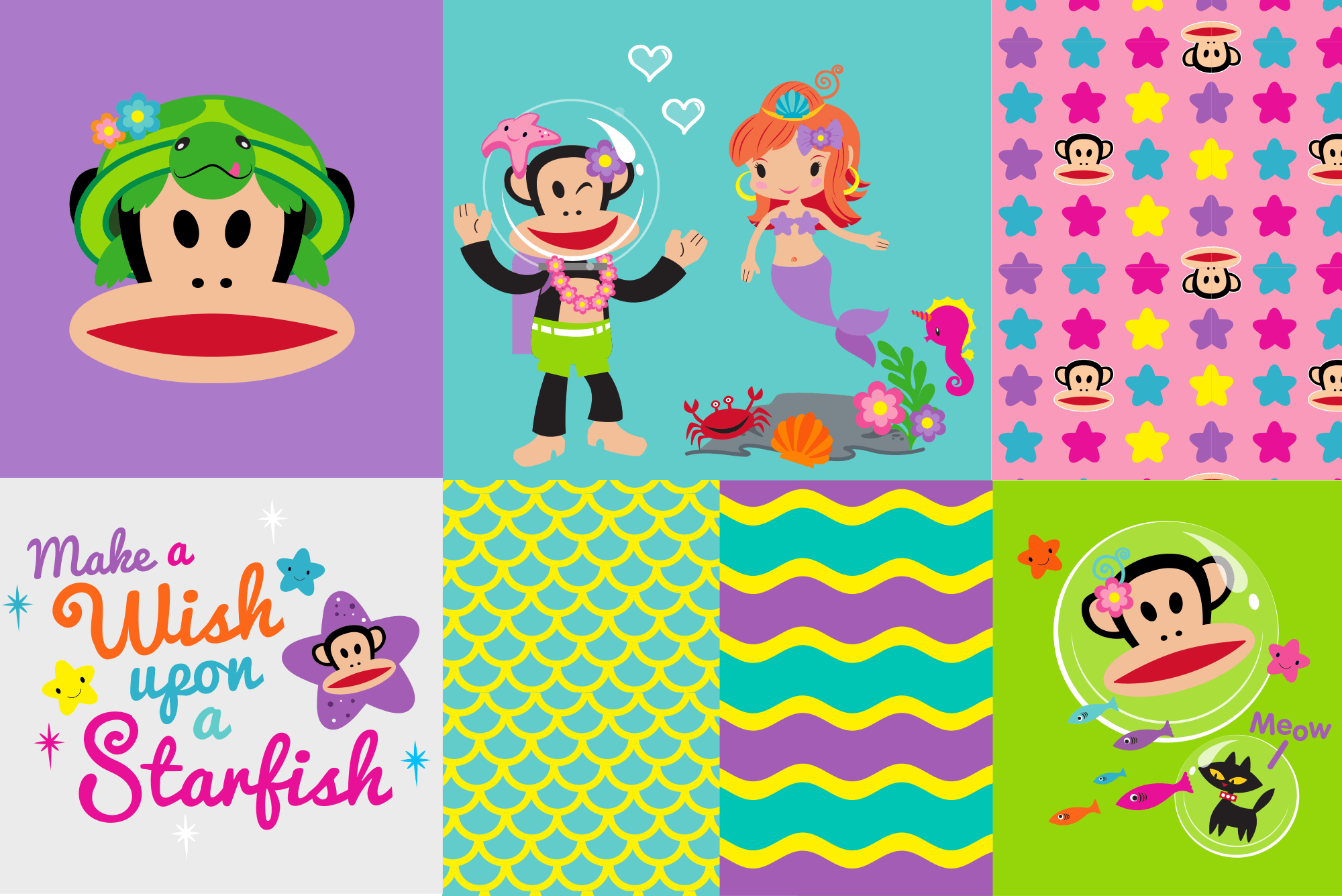 Paul Frank Under the Sea Girls Style Guide