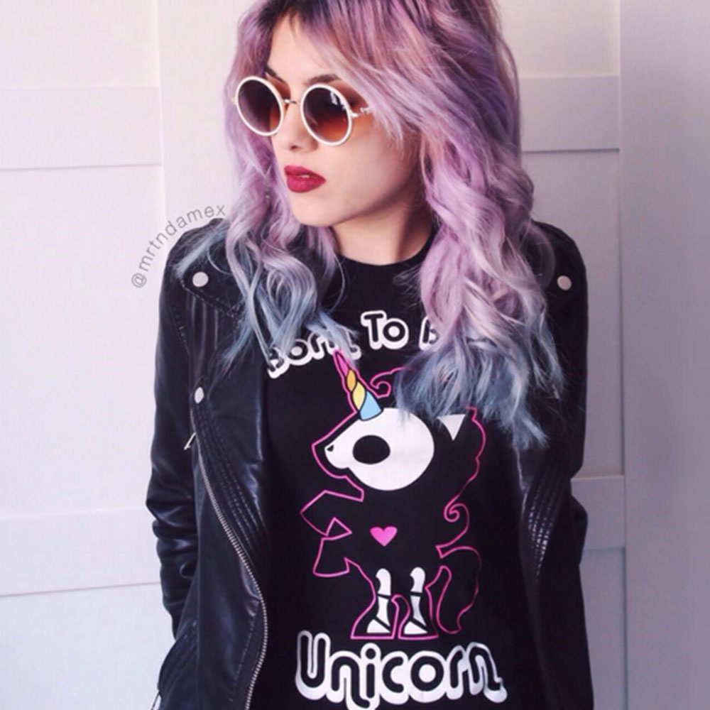 Skelanimals Bonita Born to be a Unicorn Tee