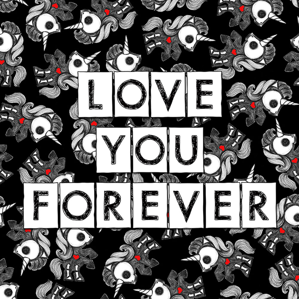 Skelanimals Love You Forever Bonita Print