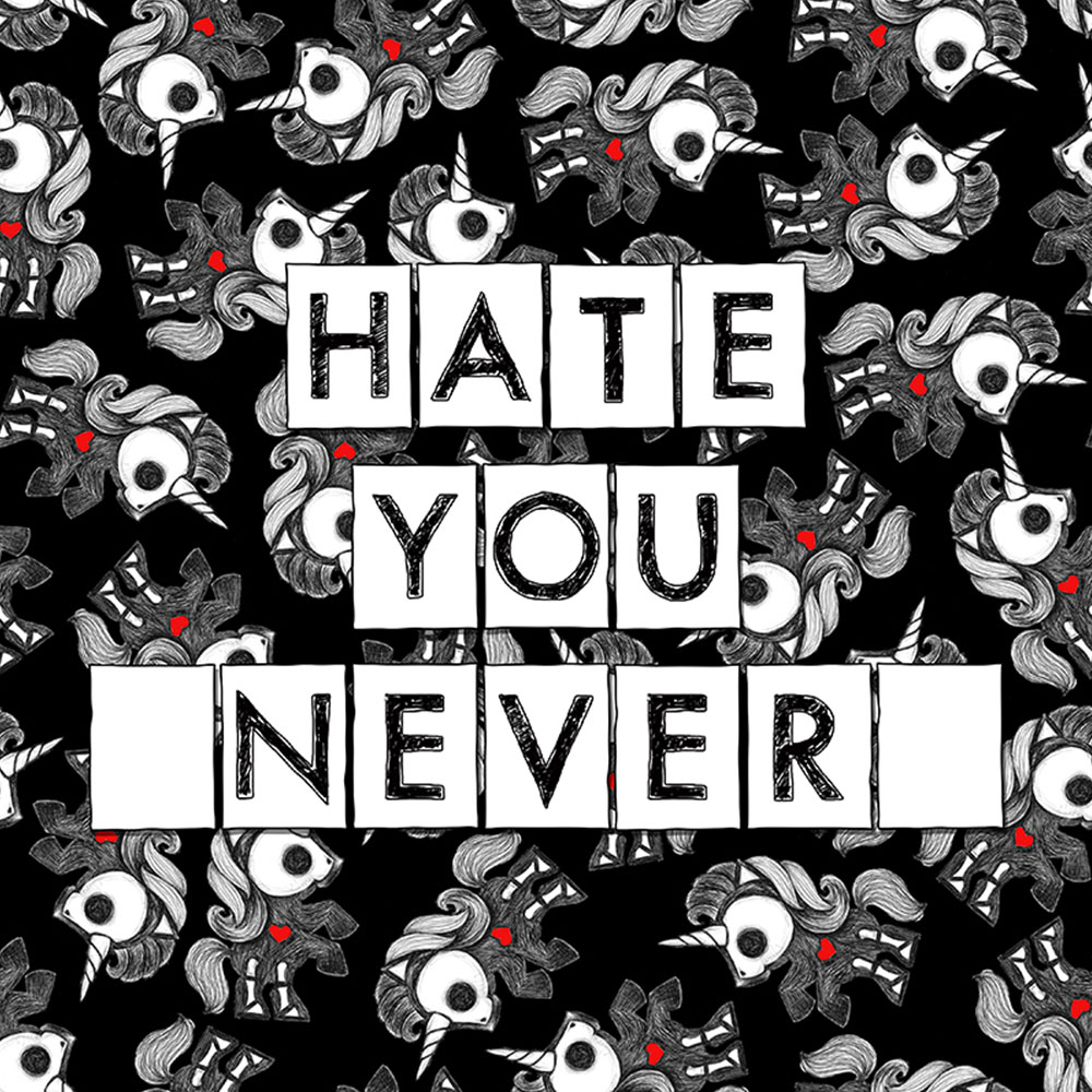 Skelanimals Hate You Never Bonita Print